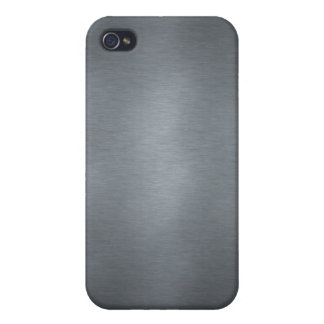 Brushed Steel iPhone 4 Cases