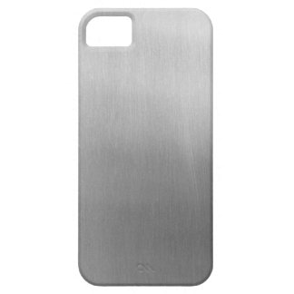 Brushed steel iPhone SE/5/5s case