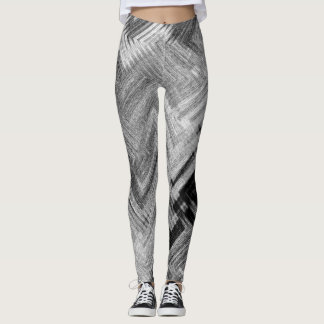 Brushed Steel Leggings by Artist C.L. Brown