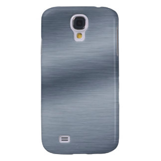 Brushed Steel Look Background Galaxy S4 Cover