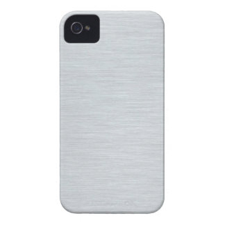 Brushed Steel Photo Printed on iPhone 4 Case-Mate