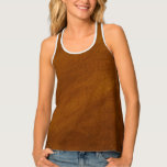 Brushed Suede Texture Tank Top at Zazzle