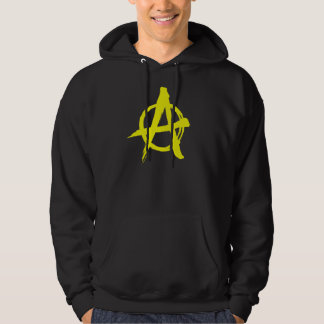 Brushed Yellow Anarchy Hoodie