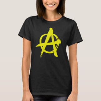 Brushed Yellow Anarchy T-Shirt