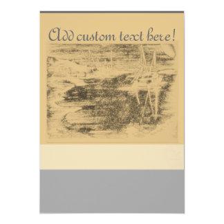 BrushedHarbour-aged Card