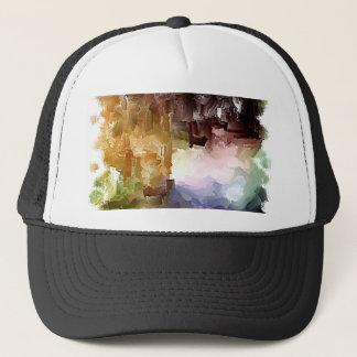 Brushes 002 trucker hat