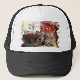 Brushes 003 trucker hat