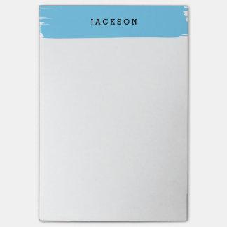 Brushstroke notepad post-it notes