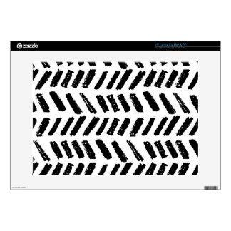 Brushstroke Slash Pattern Decal For Laptop