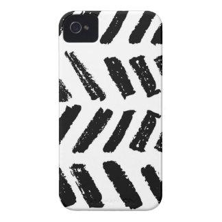 Brushstroke Slash Pattern iPhone 4 Case