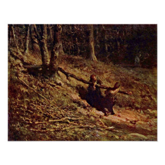 Brushwood Collectors by Jean-francois Millet Posters
