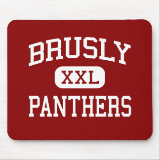 Brusly - panteras - High School secundaria - Brusl Alfombrillas De Ratón