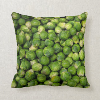 Brussel Sprout Throw Pillow