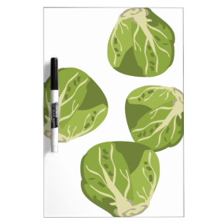 Brussel Sprouts Dry Erase Board