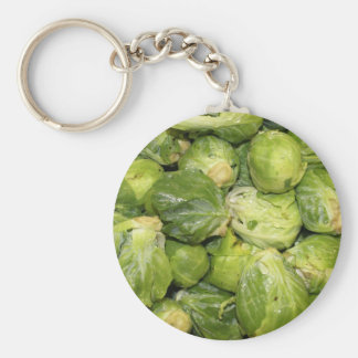 Brussel Sprouts Key Chain