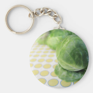 Brussel Sprouts Keychain