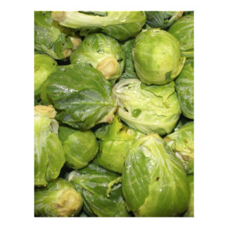 Brussel Sprouts Personalized Letterhead