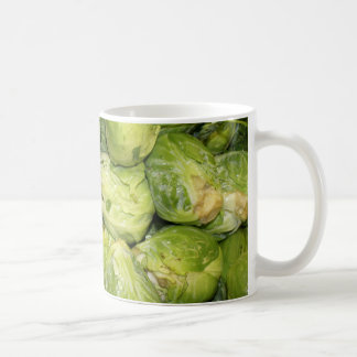 Brussel Sprouts Coffee Mugs