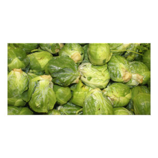 Brussel Sprouts Photo Card