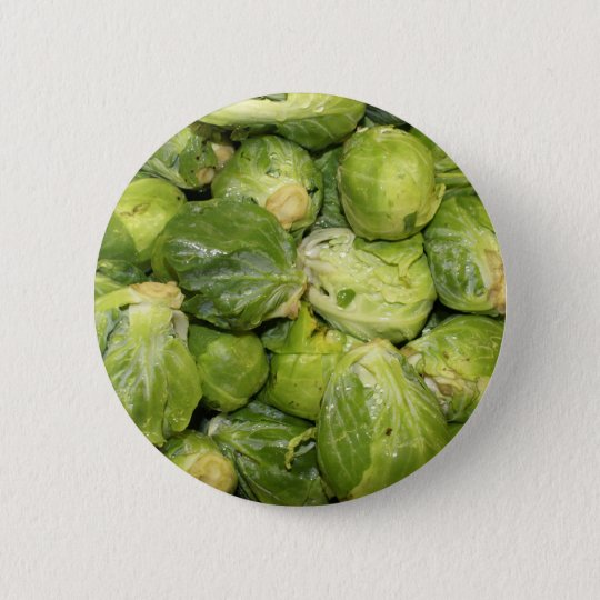 Brussel Sprouts Pinback Button