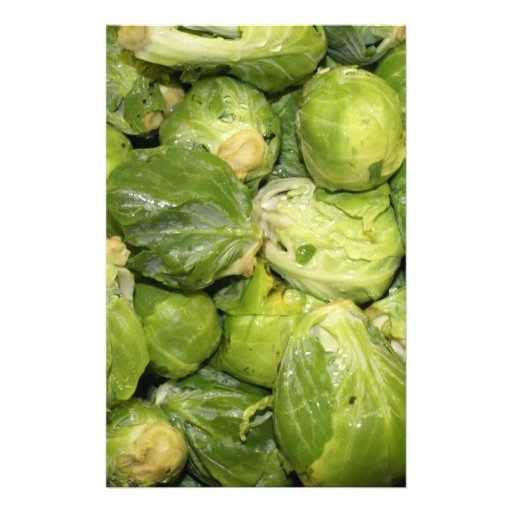 Brussel Sprouts Stationery Design