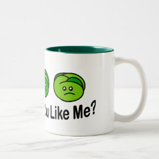 Brussel Sprouts Two-Tone Coffee Mug