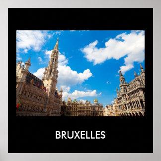 Brussels 01B Print