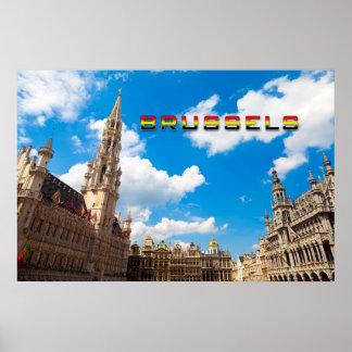 Brussels 01D Print