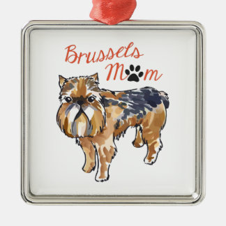 BRUSSELS MOM CHRISTMAS TREE ORNAMENTS