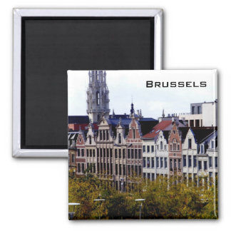 Brussels 2 Inch Square Magnet