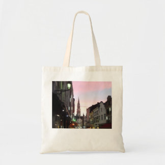 Brussels At Sunset Tote Bag