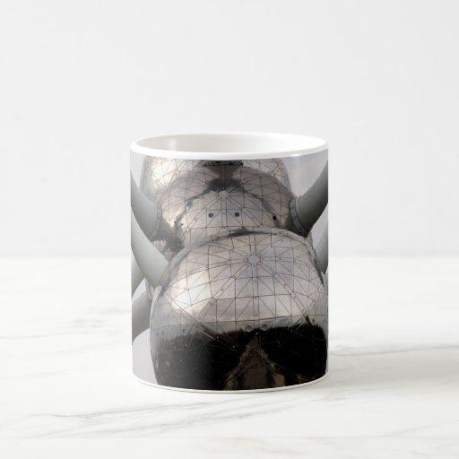 Brussels Atomium Classic White Coffee Mug