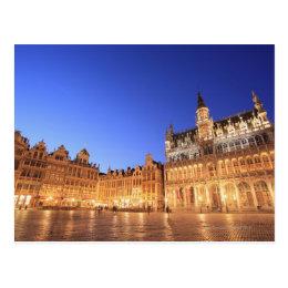 Brussels, Belgium 2 Postcard