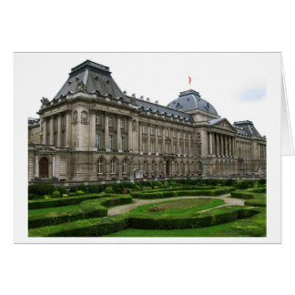 Brussels, Belgium, Palace, travel, photography Card