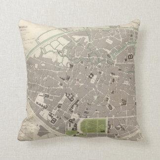Brussels Bruxelles Throw Pillow