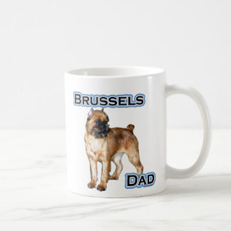 Brussels Dad 4 Classic White Coffee Mug
