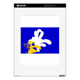 brussels-Flags Decal For iPad