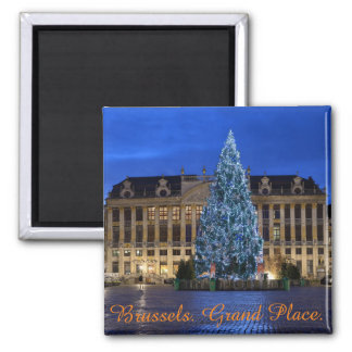 Brussels, Grand Place Magnet