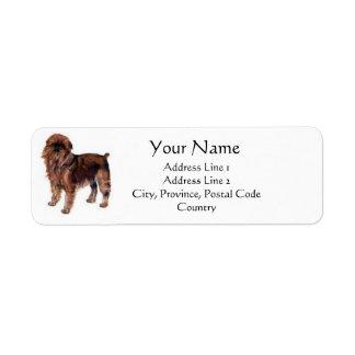 Brussels Griffon Address Labels