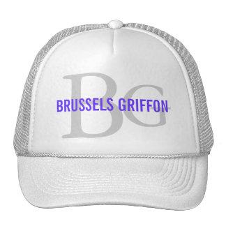 Brussels Griffon Breed Monogram Trucker Hat