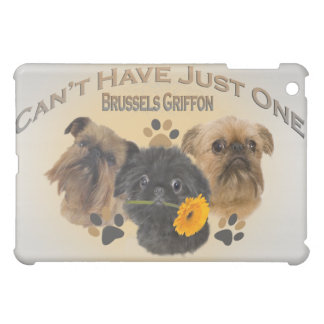 Brussels Griffon Can't Have Just One IPAD CASE