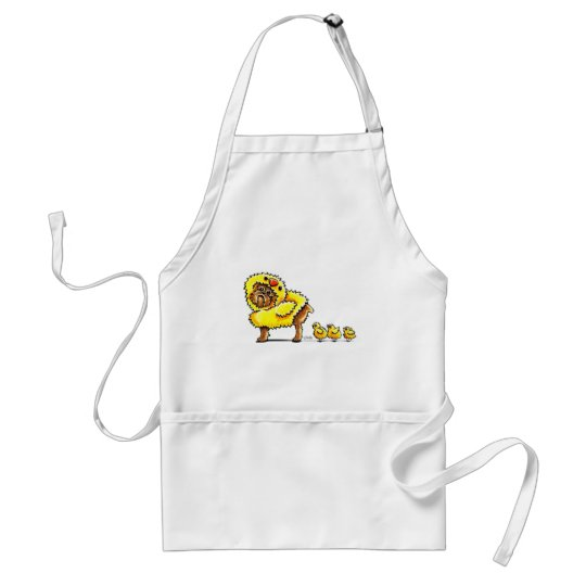 Brussels Griffon Chick Easter Adult Apron