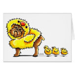 Brussels Griffon Chick Easter Card
