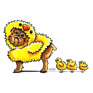 Brussels Griffon Chick Easter Cutout