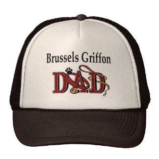 Brussels Griffon Dad Gifts Mesh Hats