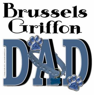 Brussels Griffon DAD Photo Sculpture