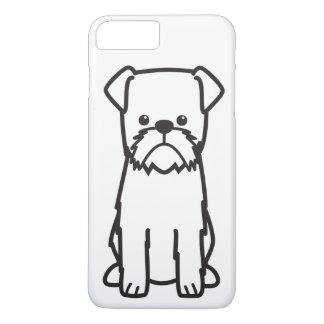 Brussels Griffon Dog Breed Cartoon iPhone 8 Plus/7 Plus Case