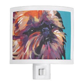 Brussels Griffon Dog fun bright pop art Night Lites