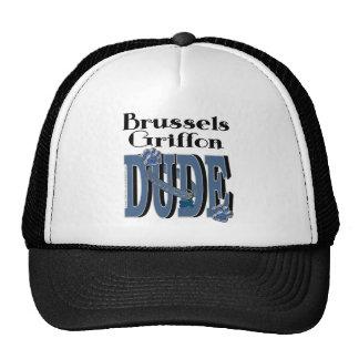 Brussels Griffon DUDE Trucker Hat