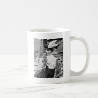 Brussels Griffon, early 1900s Coffee Mug